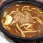 山本屋総本店の味噌煮込みうどんの麺をかんで熱々の味噌飲んで春を待つ 金シャチ横丁にも出店【名古屋】