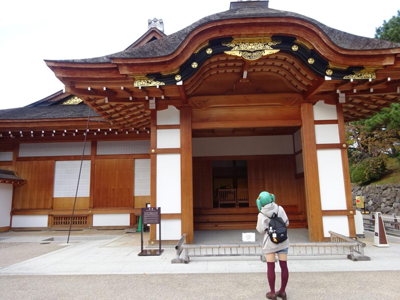 名古屋城本丸御殿コスプレ入場