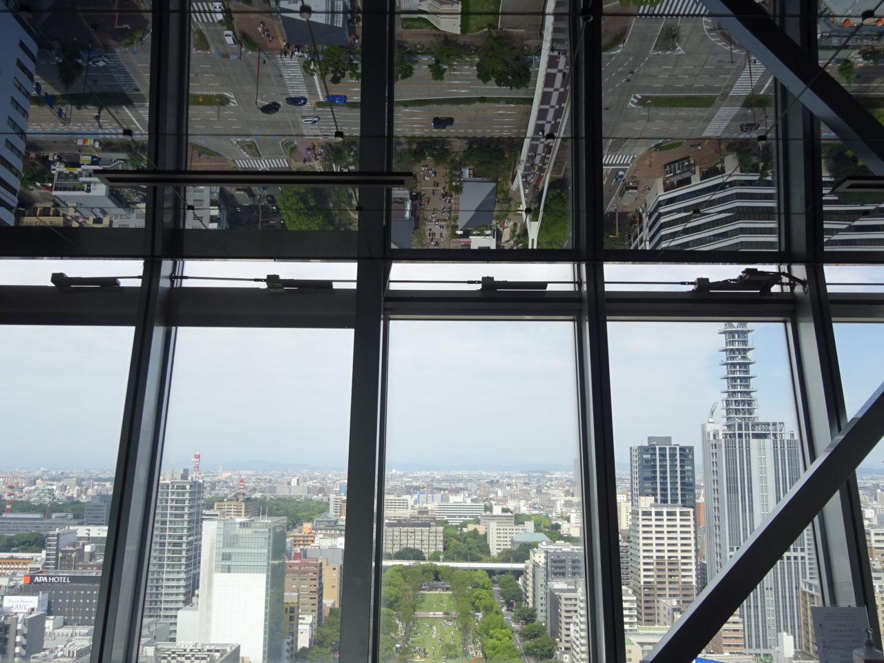 名古屋テレビ塔景色