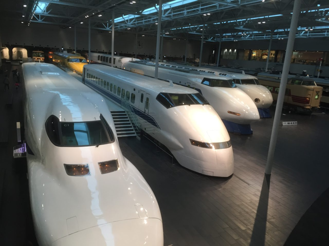 新幹線車輌展示