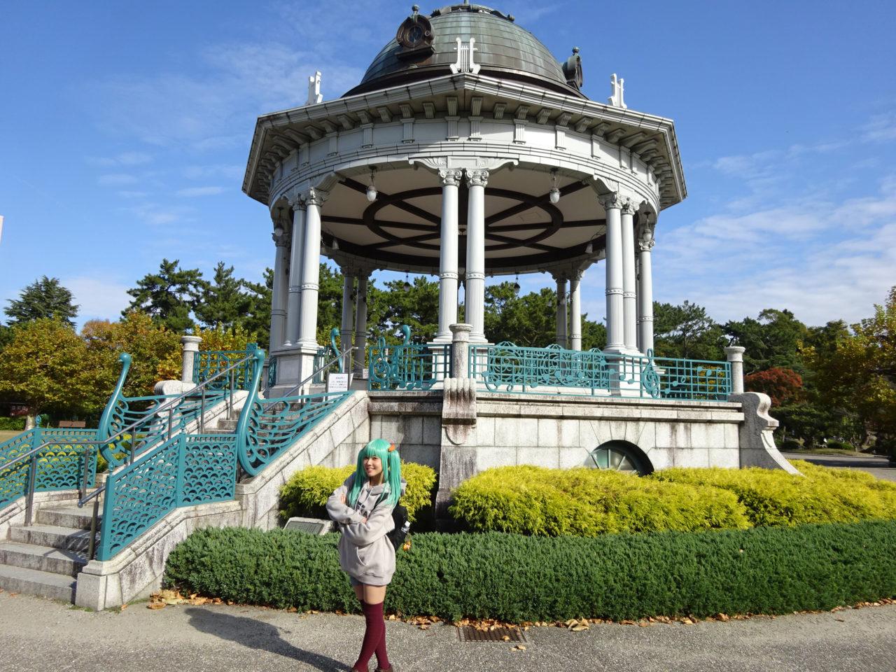 鶴舞公園無料コスプレ撮影