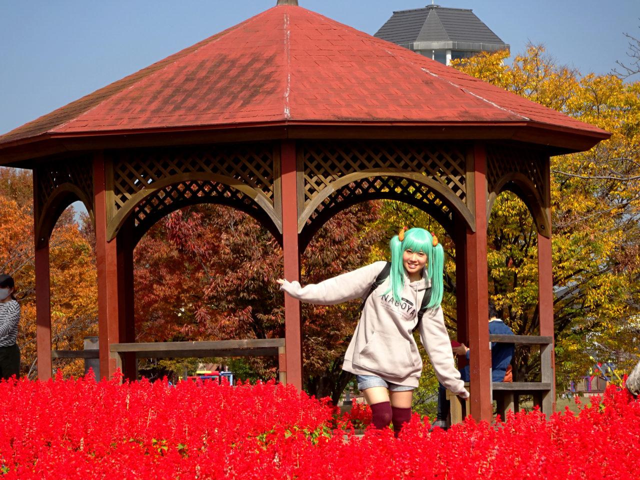 戸田川緑地の花壇