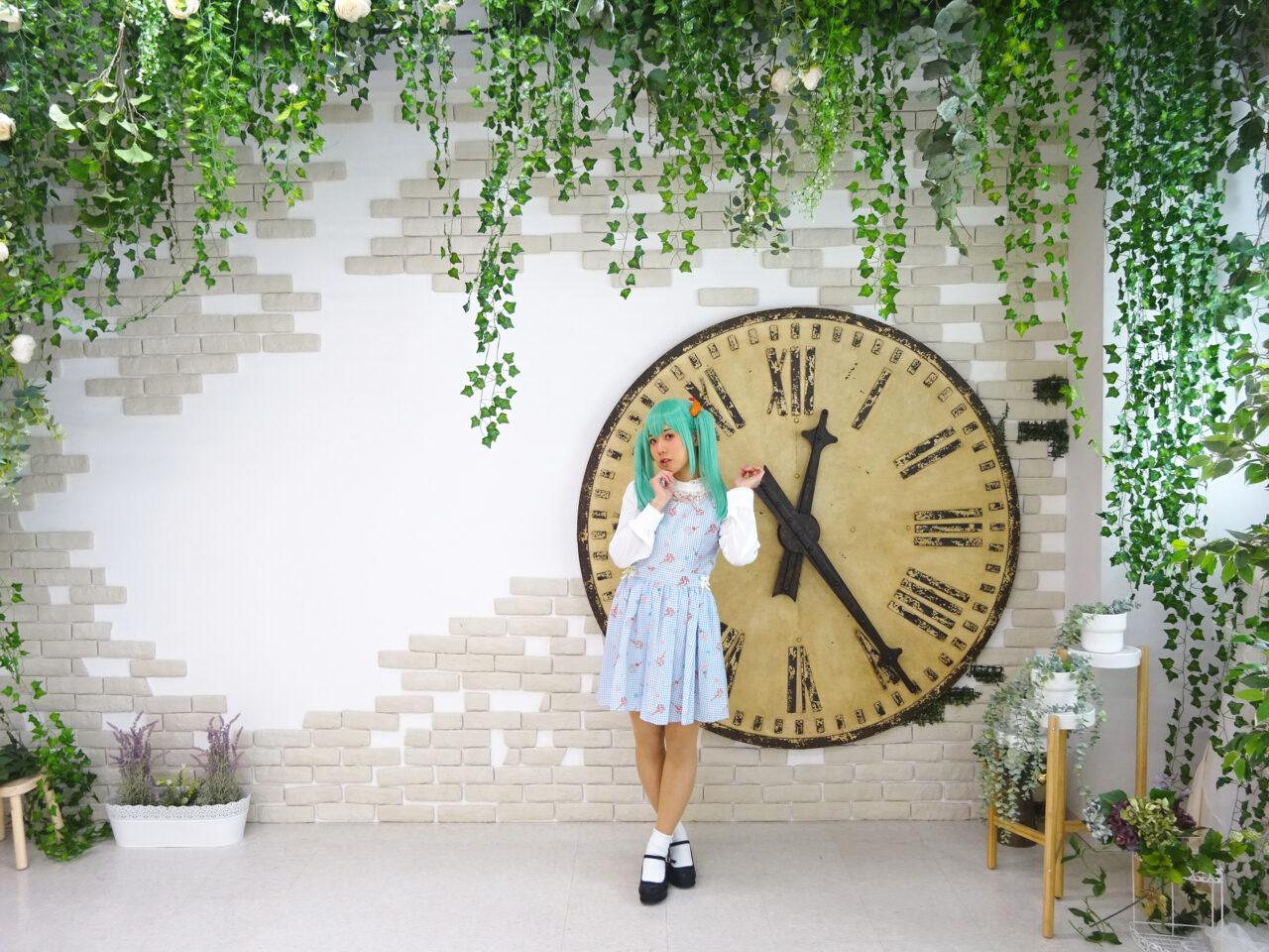 大きな時計メルヘン