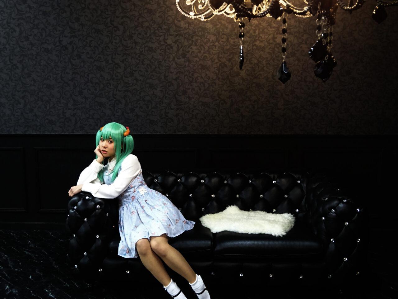 シャンデリア部屋