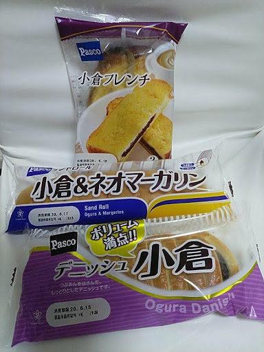 パスコの菓子パン
