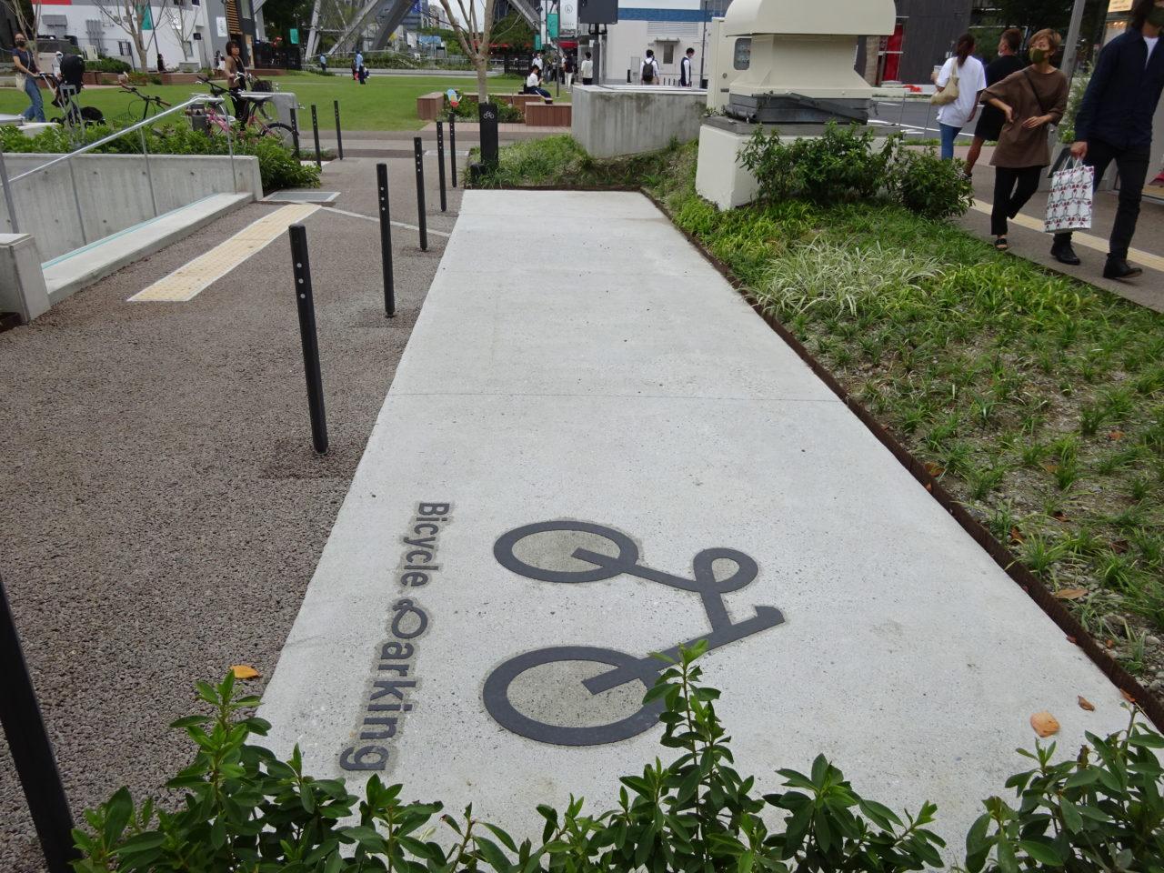 ヒサヤオオドオリパーク駐輪場