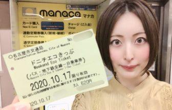 名古屋市営地下鉄ドニチエコきっぷ