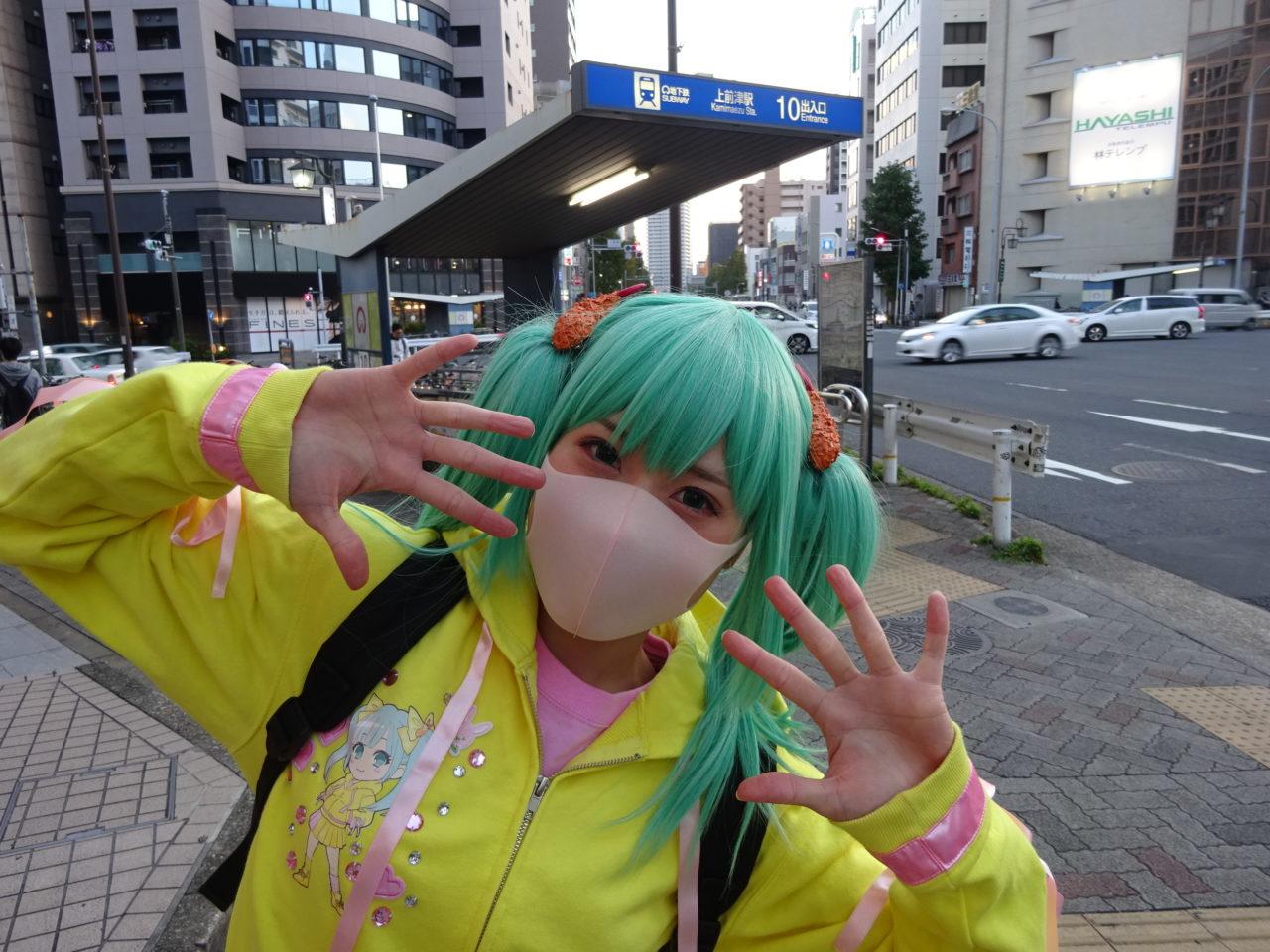 名古屋ご当地キャラコスプレイヤー