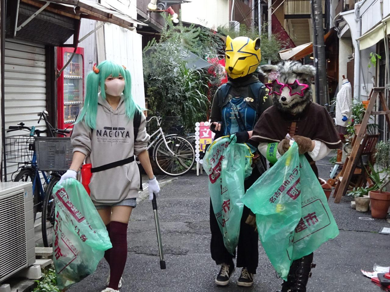 大須商店街ゴミ拾い