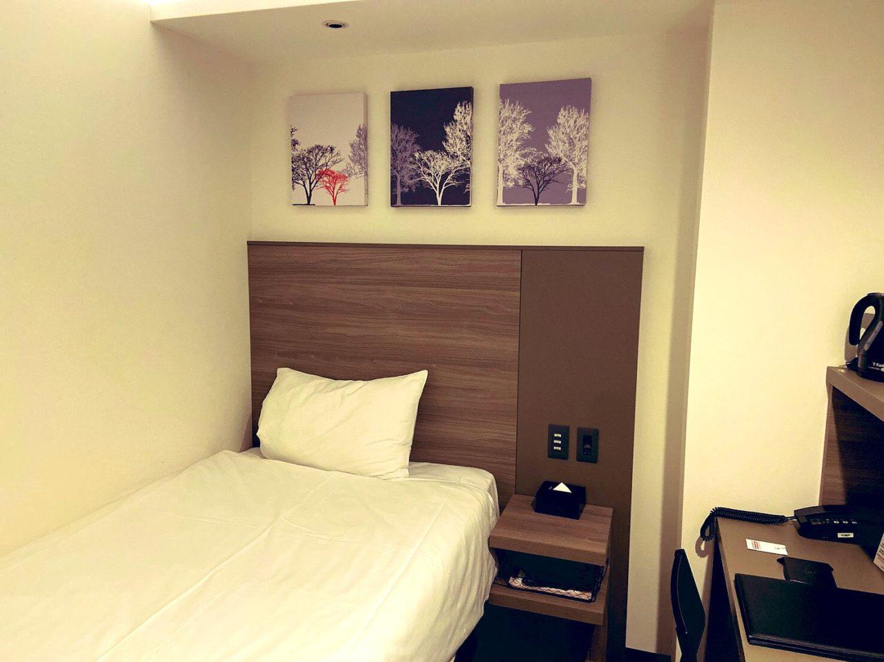 レッドプラネットホテルの部屋