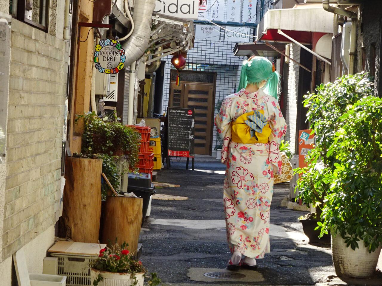 大須裏路地撮影