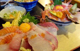 味福の海鮮丼比較写真