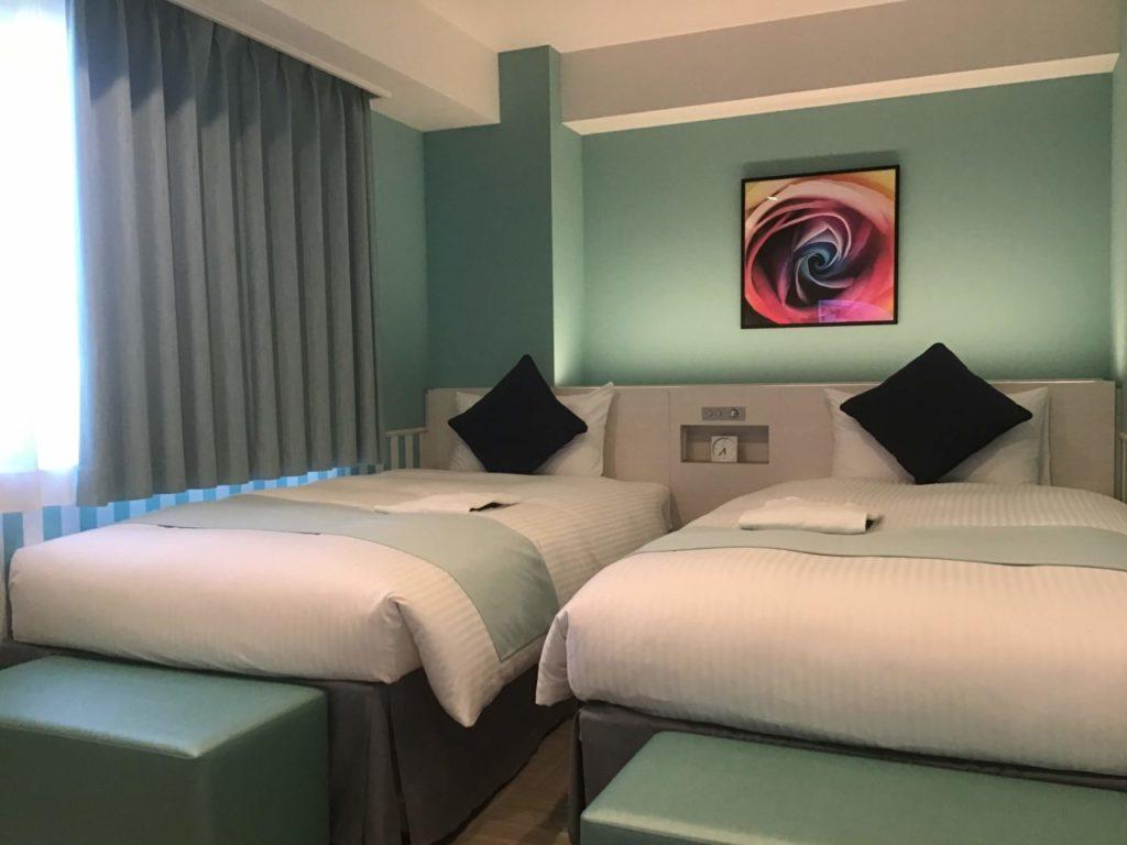 ダイワロイヤルホテルD-CITY名古屋納屋橋twinroom