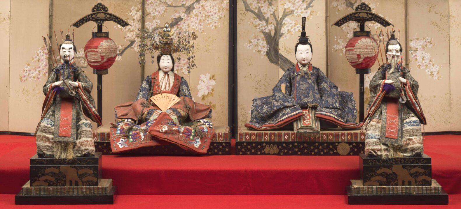 名古屋伝統の雛人形