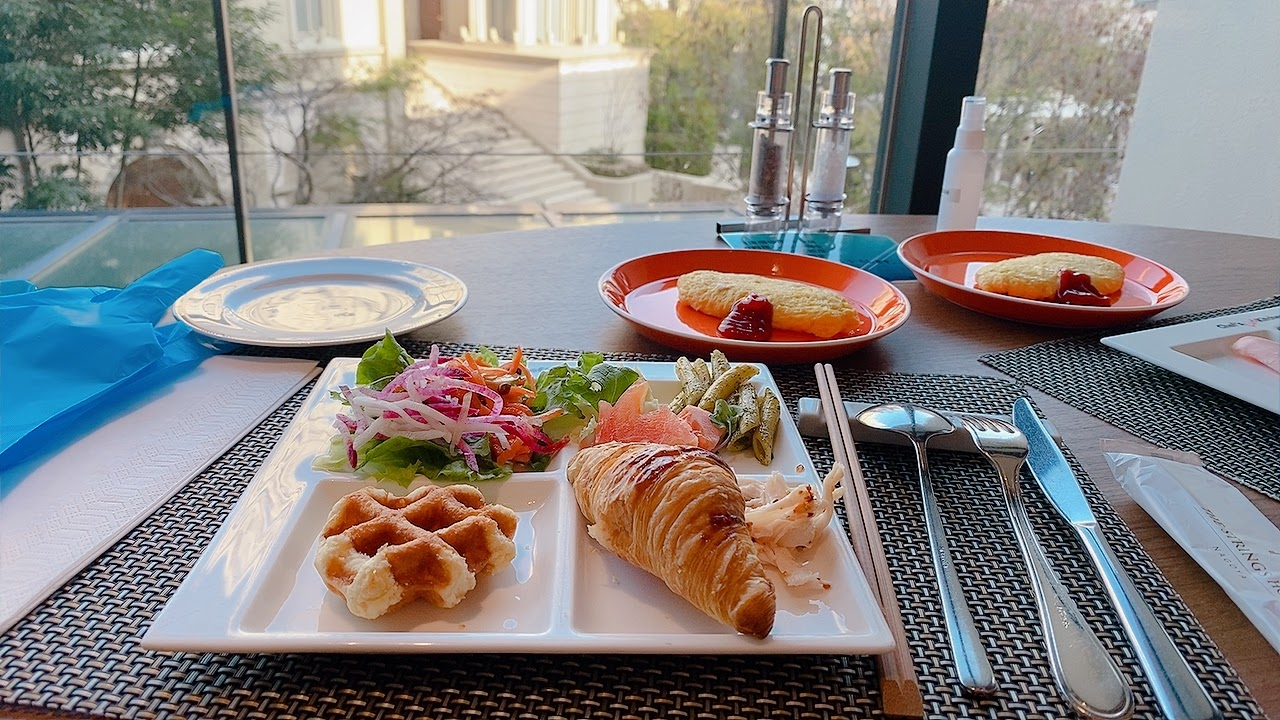 ストリングスホテル朝食