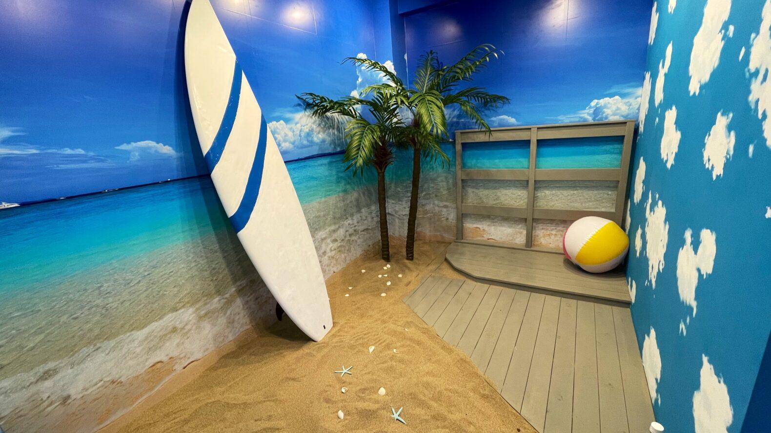 大須の砂浜撮影ブース